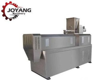 Silver Corn Puff Snack Food Processing Machinery For 80-100 Kg / H Capacity