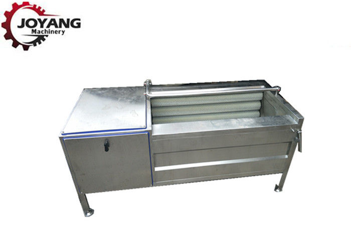 Food Grade SS Fruit And Vegetable Washer Machine , Eco Washing Machine Rust Proof