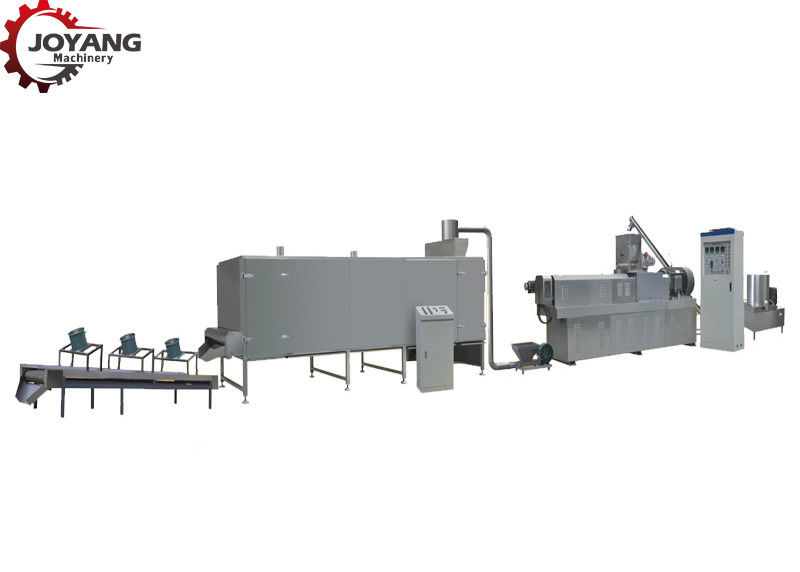 Industrial Dry Soya Meat Making Machine , Soybean Processing Machine 380V