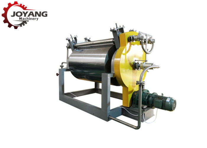 Industrial Floating Fish Feed Machine Continuously Operated Silver Grey Color
