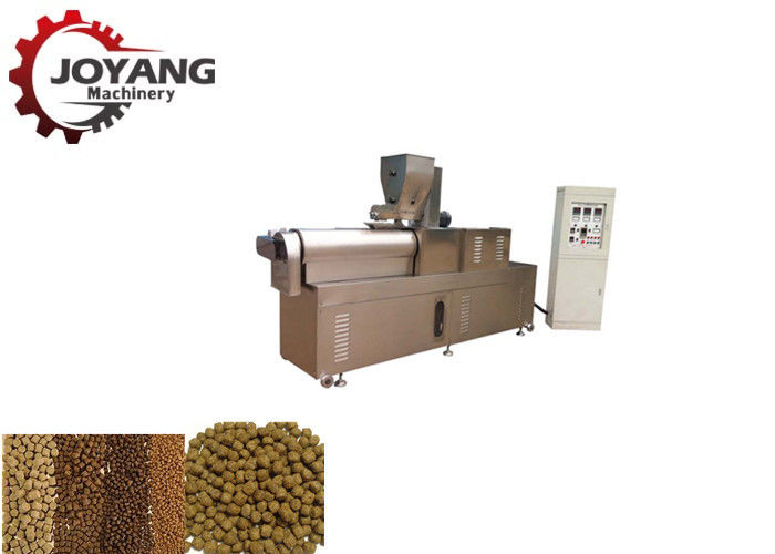 500 Kg / H Floating Fish Feed Machine , Pellet Feed Fish Feed Processing Machine