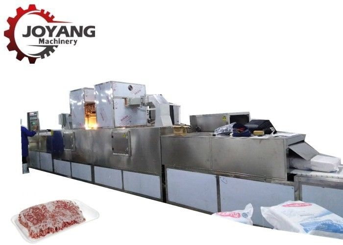 PLC Touch Screen Microwave Meat Thawing Equipment Environmental Protection