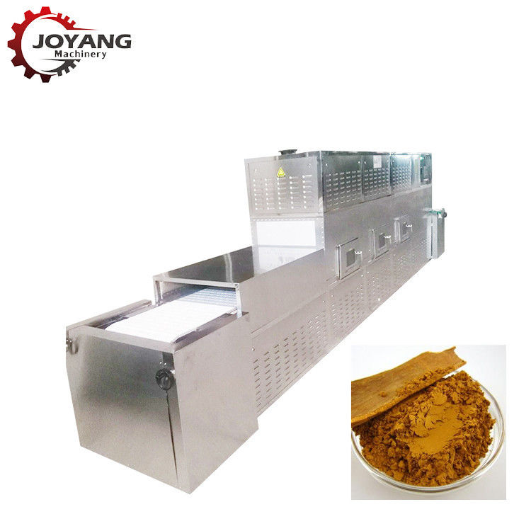 Beef Jerky Belt Microwave Drying And Sterilization Machine For Industrial